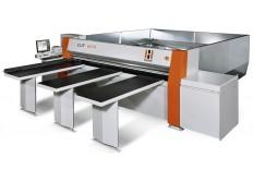 Seccionadora horizontal de paneles, modelo CUT 6010, marca Holz Her.